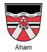 Wappen Gemeinde Aham - Header