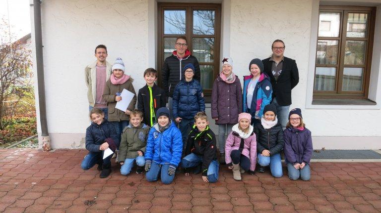 Grundschule Aham besuchte das Rathaus