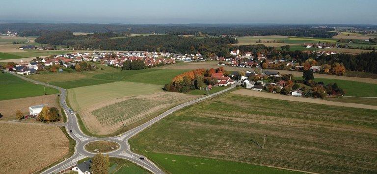Kreisverkehr Triendorf