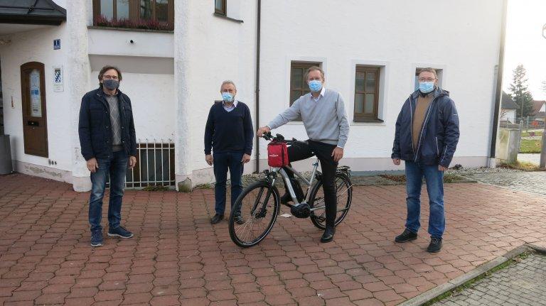 E-Bike Übergabe an die VG Gerzen