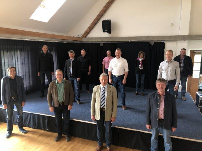 Gemeinschaftsversammlung der VG Gerzen Mai 2020