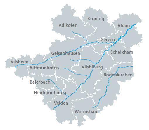 ILE-Landkarte